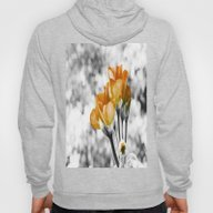 Golden Flowers Hoody