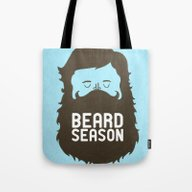 Beard Season Tote Bag