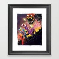 Epic Fan Art Battle Framed Art Print