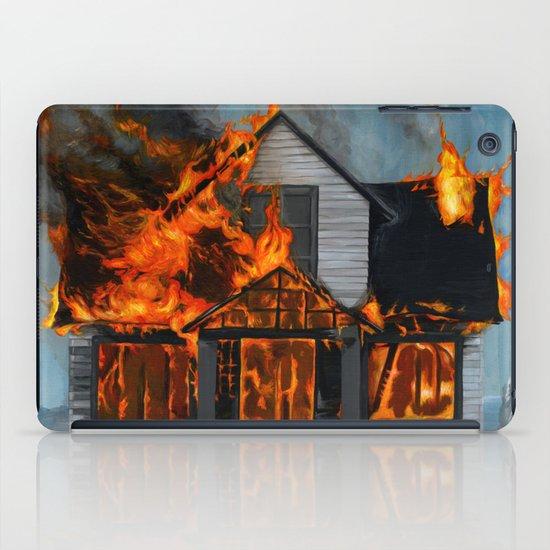 House on Fire iPad Case