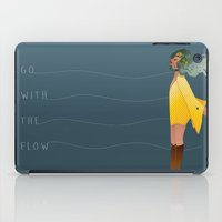 Go with the flow iPad Case