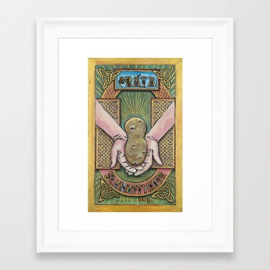 Práta Reliquary Framed Art Print