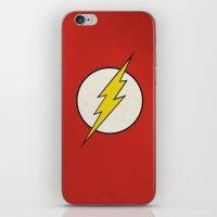Flash Minimalist  iPhone & iPod Skin