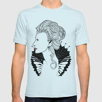 Elizabeth I. Mens Fitted Tee Light Blue SMALL