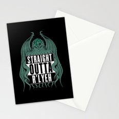 Straight Outta R'lyeh Stationery Cards