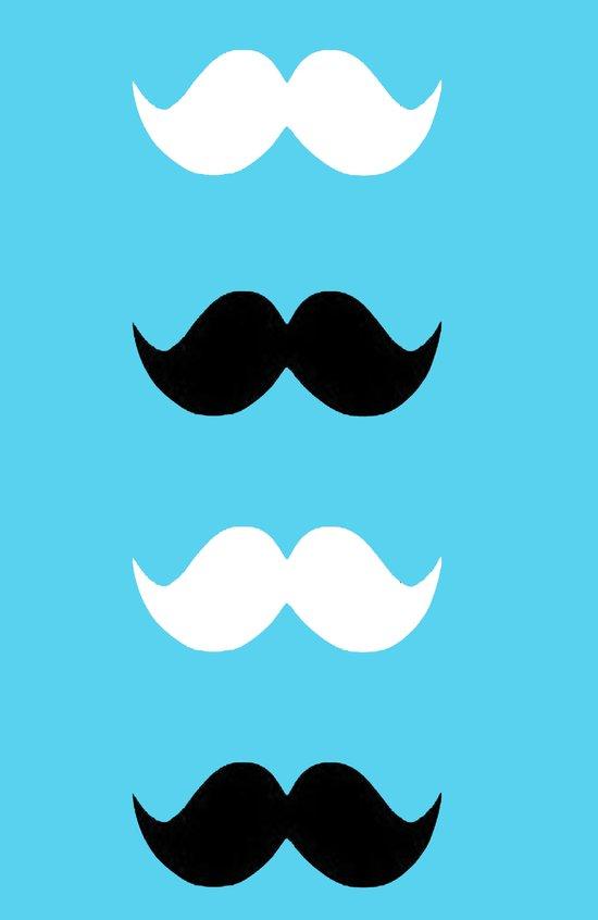 moustaches Art Print
