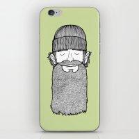 Lumberjack McBeardy iPhone & iPod Skin