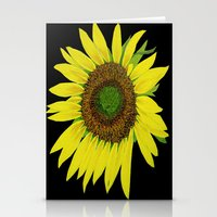 Sunflower Painted  Stationery Cards