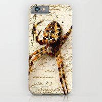 iPhone & iPod Case featuring Spider Letter by YM_Art by Yv✿n / aka Yanieck Mariani