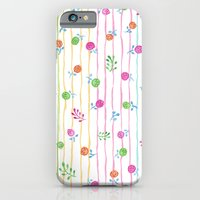 iPhone & iPod Case featuring Pretty Flowers by Floating Lemons