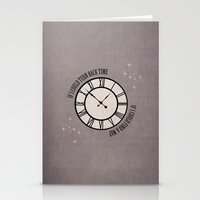 If I Could Turn Back Time... Stationery Cards