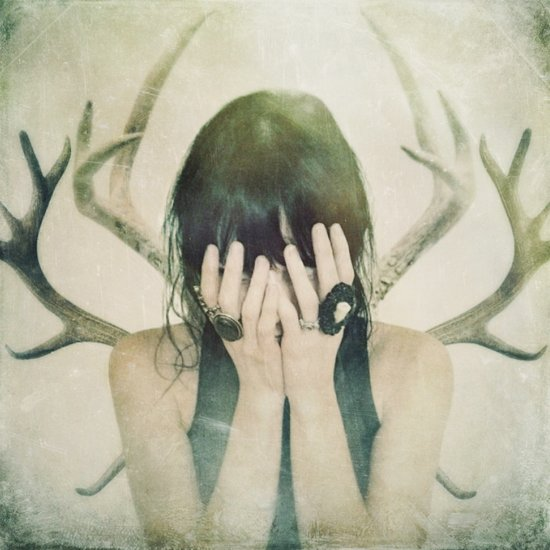 beware the antlers Art Print