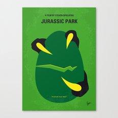 No047 My Jurassic Park minimal movie poster Canvas Print