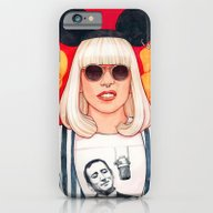 iPhone & iPod Case featuring Jazz Art Pop Punk by Helen Green