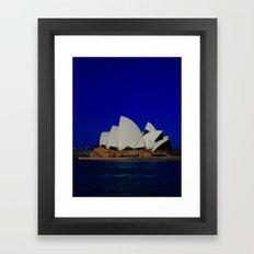 Sydney Blues-I've Got 'Em DPG151009b Framed Art Print