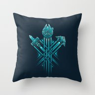 Throw Pillow featuring Rebel Paths by Victor Vercesi
