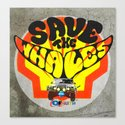 Modern Times - Save the whales Canvas Print