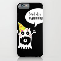 birthday iPhone & iPod Cases featuring Birthday by oana_s