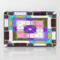Glass Block Abstract iPad Case