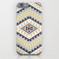 iPhone & iPod Case featuring RETRO PATTERN by Nika