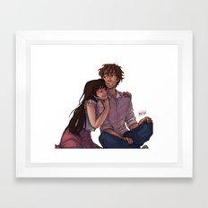 Admit it, kid Framed Art Print