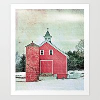 Country Cache  Art Print