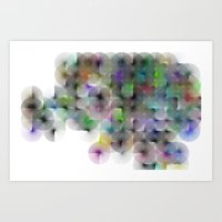 Written Circles #2 Socie… Art Print
