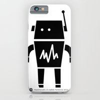 iPhone & iPod Case featuring ROBOT Number Two by Maedchenwahn