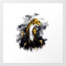 The Cheetah Art Print