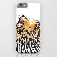 lion barcode iPhone 6 Slim Case