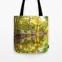 Wey Navigation Canal Tote Bag