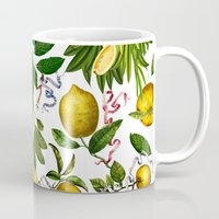 LEMON TREE White Mug