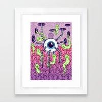 In The Land Of The Blind Framed Art Print
