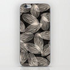 Fallen Fairy Wings - Silver Screen Edition iPhone & iPod Skin
