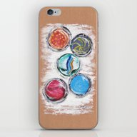 Marbles iPhone & iPod Skin