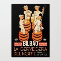 La Cervecera Del Norte Canvas Print