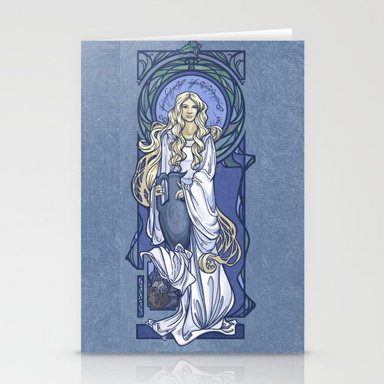 Galadriel Nouveau Stationery Card