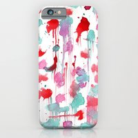 iPhone & iPod Case featuring Water spots by Nuez Rubí