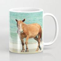 Wild Mustang Of Carova, … Mug