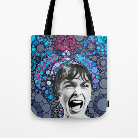 Psycho Design  Tote Bag