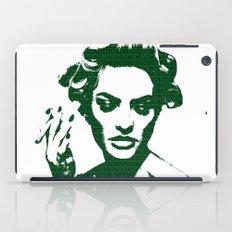 Smoke: Candice Swanepoel iPad Case