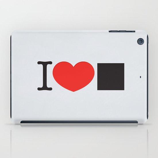 I LOVE PIXELS / PICTOGRAM VERSION iPad Case