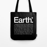 Earth.* Available for a limited time only. Tote Bag