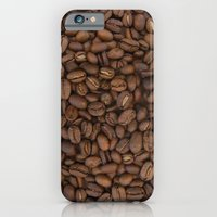 iPhone & iPod Case featuring Coffee Beans by Grace Breyley