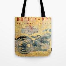 HD - Vintage Motorcycle Tote Bag