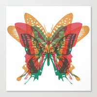 Butterfly Rorschach, Ya Know, For Kids! Canvas Print