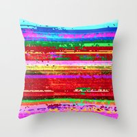 dubstep substitution Throw Pillow