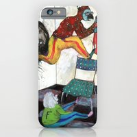 iPhone & iPod Case featuring Retrait by Franck Chartron