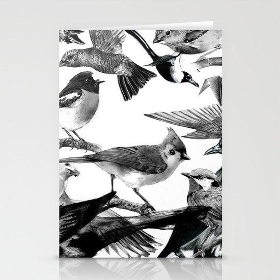 A Volery of Birds Stationery Card