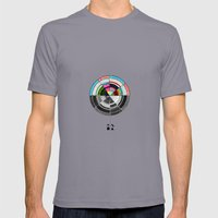 Contrast  Mens Fitted Tee Slate SMALL